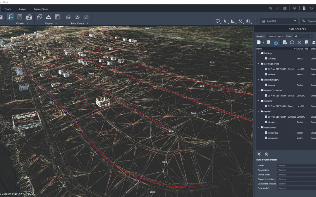 Projektiranje cijevne infrastrukture od GIS-a do BIM-a