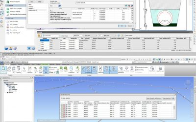 Pipe network quantity take-off analysis in Navisworks