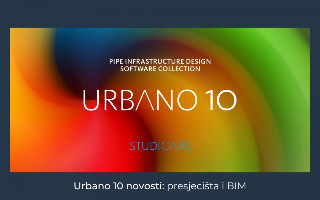 Urbano 10 novosti: presjecišta i BIM